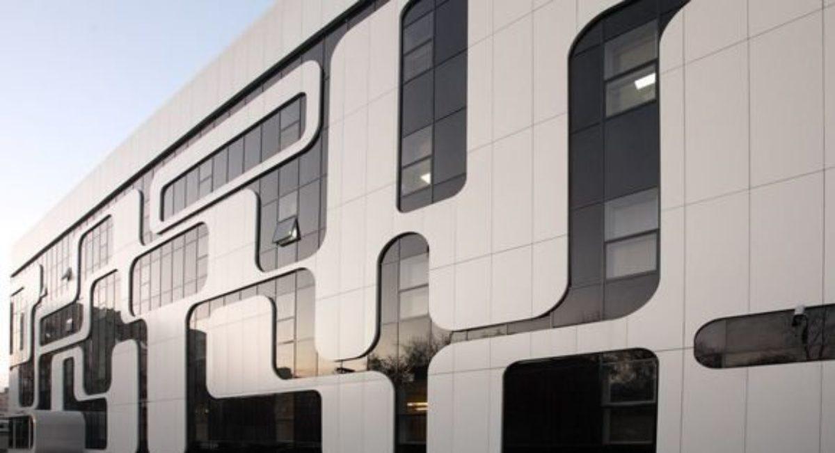Алюминиевые панели для отделки фасадных зданий